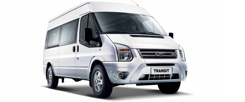 Xe Ford Transit 2014.